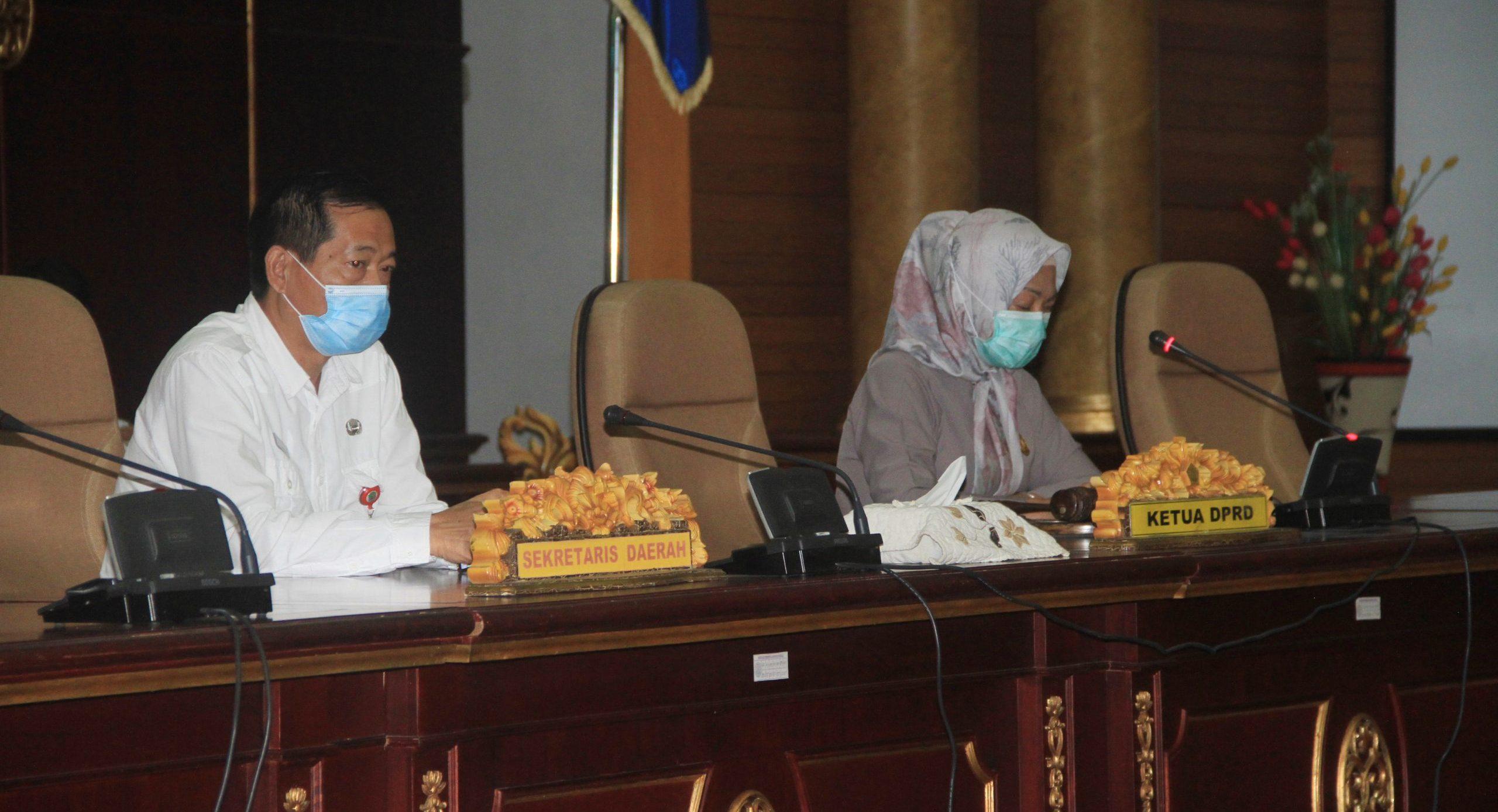 DPRD Nunukan Setuju Tetapkan 6 Raperda Menjadi Perda.