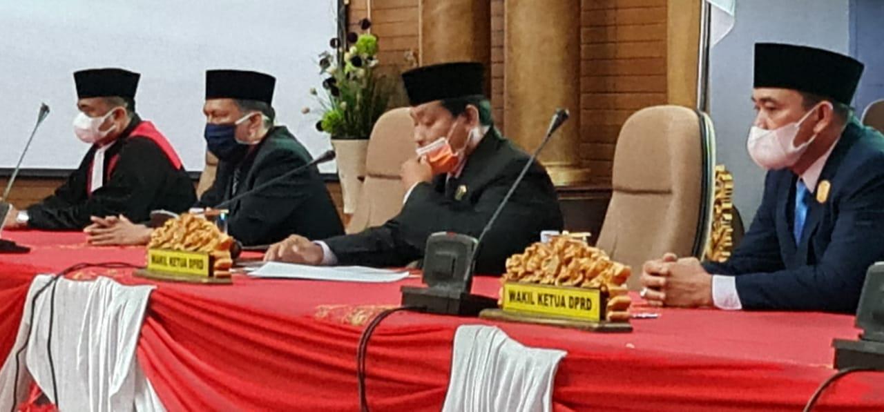 Pengucapan Sumpah Janji Unsur Pimpinan DPRD Nunukan