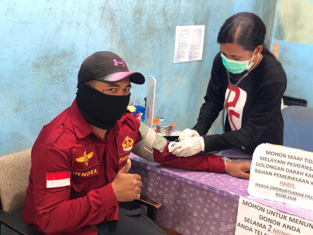 Kalapas Nunukan Donor Darah