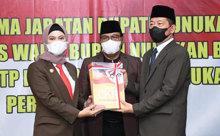 Bupati, Wakil Bupati danSekda Kabupaten Nunukan