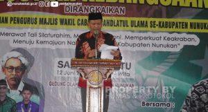 Asisten III Pemda Nunukan Muhammad Amin, SH