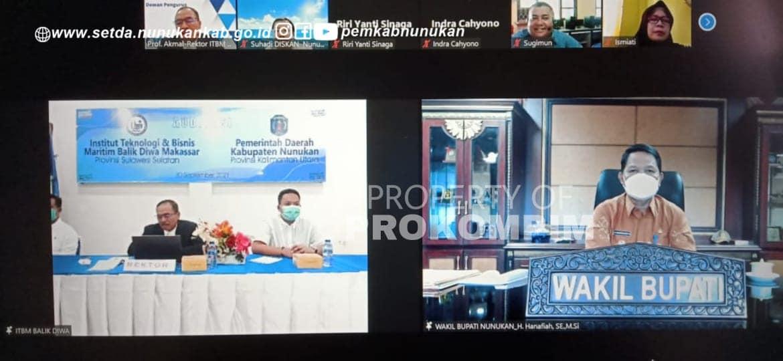 Wakil Bupati Nunukan Audiensi ITBM Balik Diwa