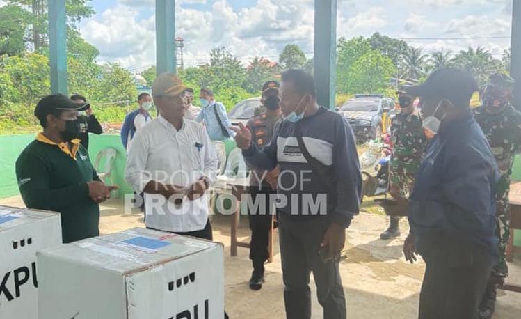 Wakil Bupati Nunukan Tinjau Persiapan Pilkades